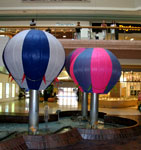 The old hot air balloons at Scarborough Town Centre mall
