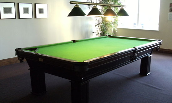 Billiards Room at May Tower condos - Pool Table